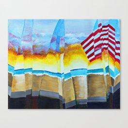 Beach Flag Canvas Print