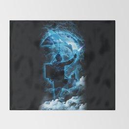 Storm Breaker Throw Blanket