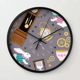Late For The Party Wall Clock