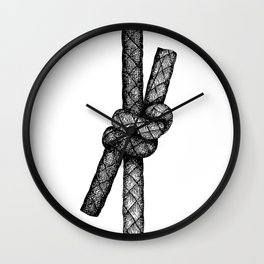 Fisherman's Knot Wall Clock