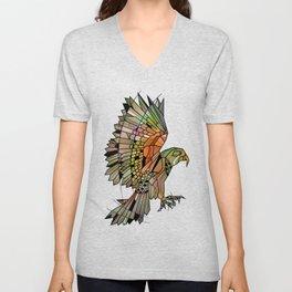 Kea New Zealand Bird Unisex V-Neck