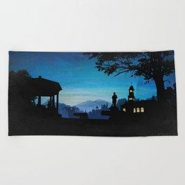 Summer Nights Beach Towel