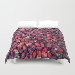 Berries in Paloquemao - Bayas en Paloquemao Duvet Cover