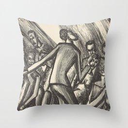 Spirituals by Lillian Richter Throw Pillow