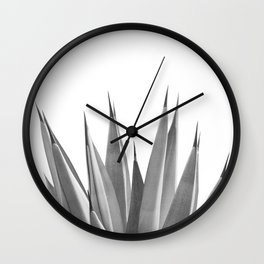 Gray Agave Dream #1 #tropical #decor #art #society6 Wall Clock