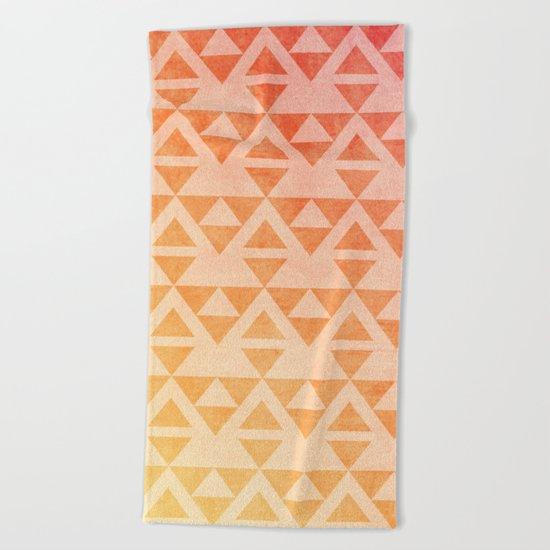 Aztec Pattern 11 Beach Towel