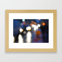 Blurredon6th Framed Art Print