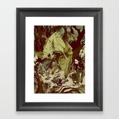 Monster Tea Party Framed Art Print