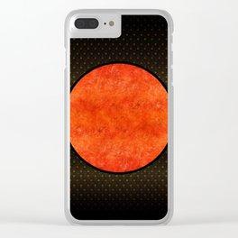"""Black Moon Sabana"" Clear iPhone Case"