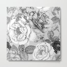 NATURE IN BLACK AND WHITE Metal Print