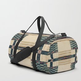V43 Old Epic Moroccan Carpet Design Duffle Bag