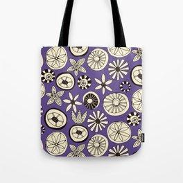 summer flowers purple Tote Bag