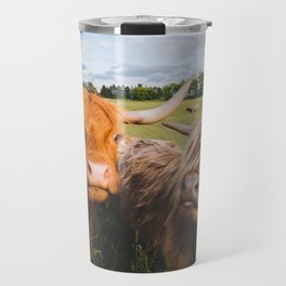 Highland Cows - Blep Travel Mug