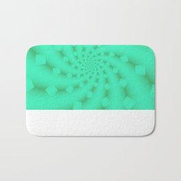 Tess Fractal in Honeydew Bath Mat