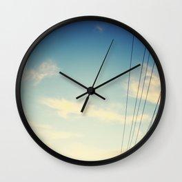 Powerlines Wall Clock