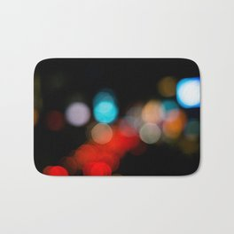 Traffic blur Bath Mat