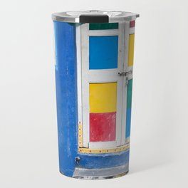Colorful Indian Door Travel Mug