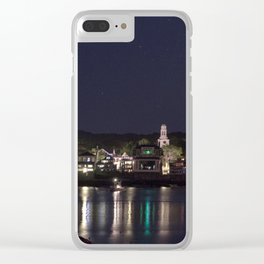 Shiney little town Clear iPhone Case