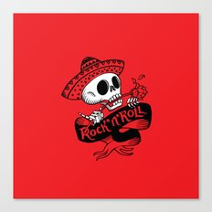 Rock'n'Roll Canvas Print