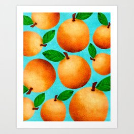 Orange You Happy? Art Print