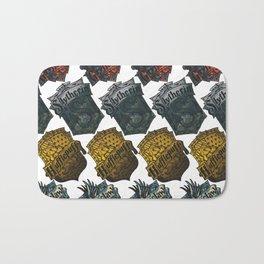 Hogwarts House Badges Bath Mat