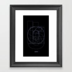 Die Neue Haas Grotesk (B-03) Framed Art Print