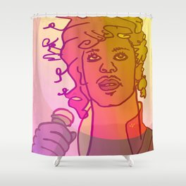 Dear Prince / Stay Wild Collection Shower Curtain