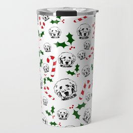 GOLDENDOODLE DOG CHRISTMAS GIFTS, GIFTS WRAPPED FOR ALL. Travel Mug