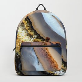 Agate astract Backpack