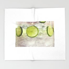 Limon, lemmon Throw Blanket