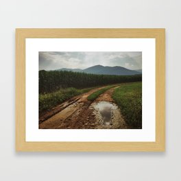 Old Rag Mountain Framed Art Print