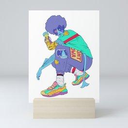 Inhuman Mini Art Print