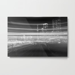 6ix City Lights Metal Print