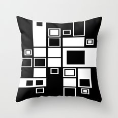 Squareness Throw Pillow