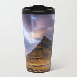 Church Mountain Iceland Travel Mug