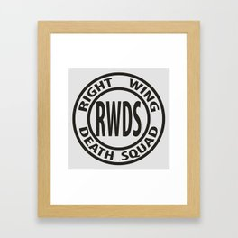 Right Wing Death Squad 3 Framed Art Print