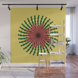 coral flower Wall Mural