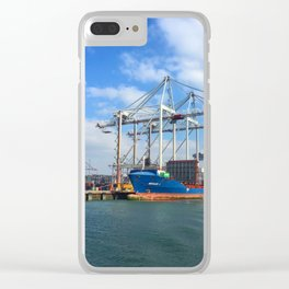 Southampton Port Clear iPhone Case