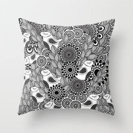 Pattern 80 Throw Pillow