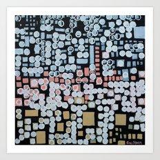:: White Noise :: Art Print