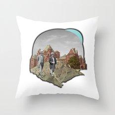 ex.plor/ation// Throw Pillow
