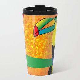 Toucan - Red Travel Mug