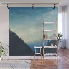 Beautiful Mountain Morning Wall Mural