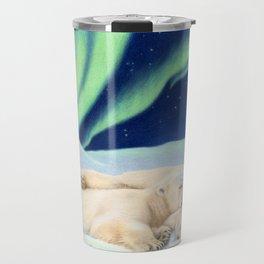 Under The Northern Lights Travel Mug