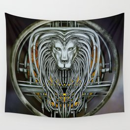 """""""Astrological Mechanism - Leo"""" Wall Tapestry"""