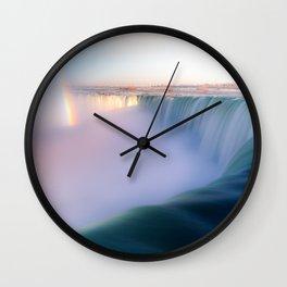 Pot of Gold at Niagara Falls Wall Clock