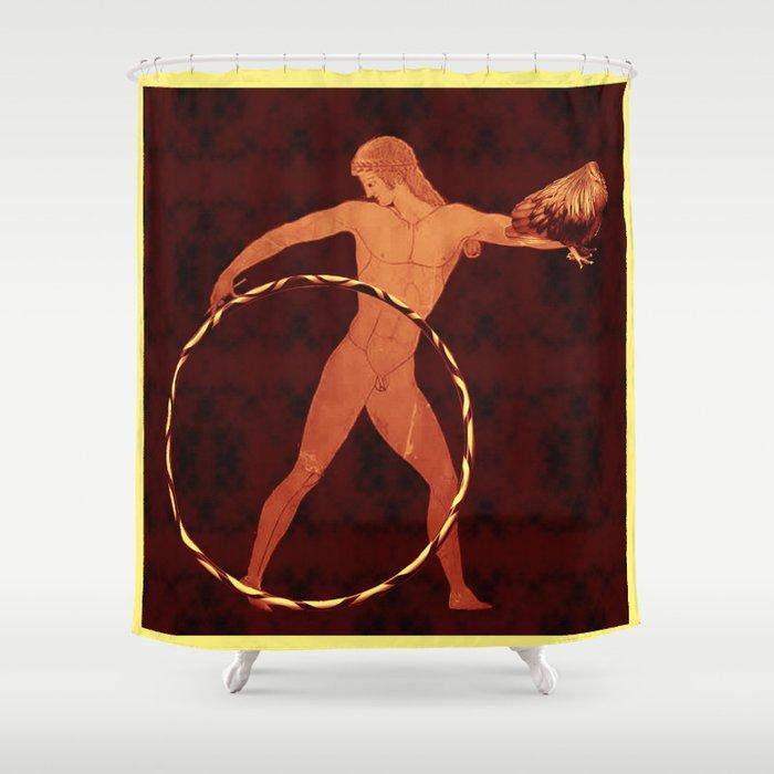 Ganymede Hoops Shower Curtain