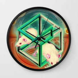 Life, as many people have spotted, is, of course, terribly unfair. Wall Clock