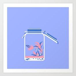 """poster : bottle 5 """"bocal parfait"""" Art Print"""