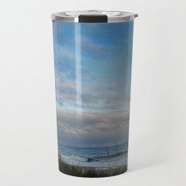 Winter Day in Myrtle Beach, SC, USA Travel Mug